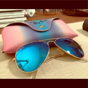 Ray-Ban Aviators Blue